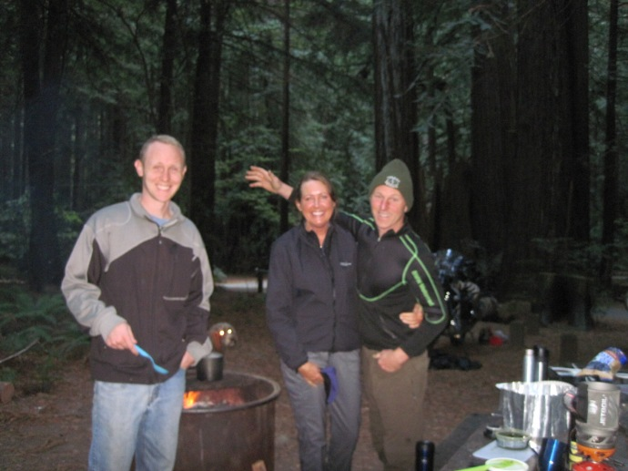 Camping in the Redwoods with Zach