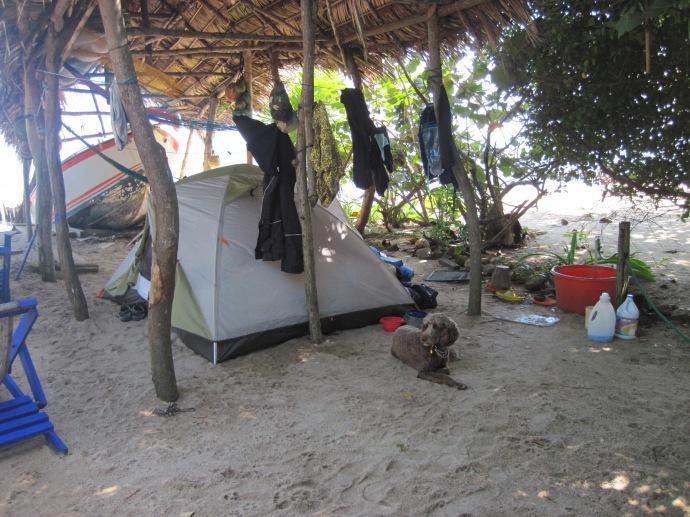 Camping at Kismet Inn